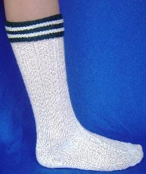 Boy's Cream Trachten Socks