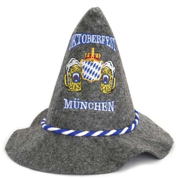 Souvenir Munich Oktoberfest Hat Embroidered