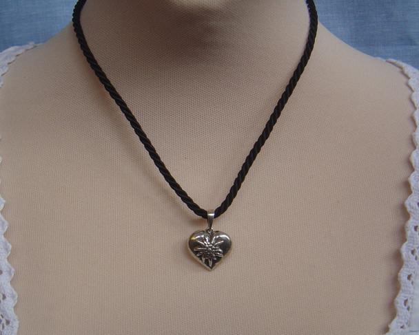 (JNSS405) Sterling Silver Heart