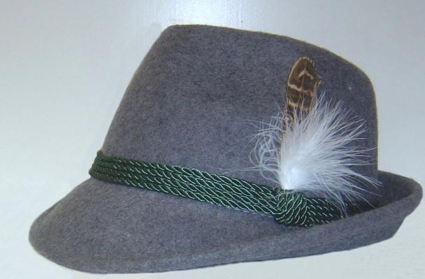 Alpine Gray Hat wool