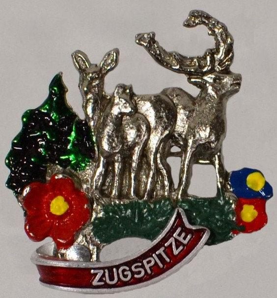HP8304 Elk Family Hat Pin ZUGSPITZE