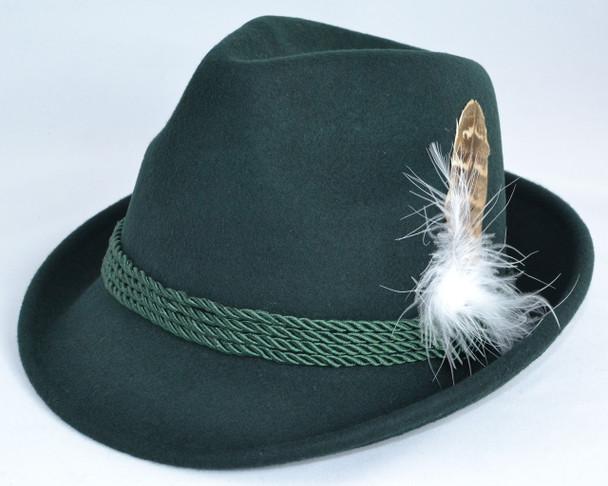 Childs Alpine Green Hat wool