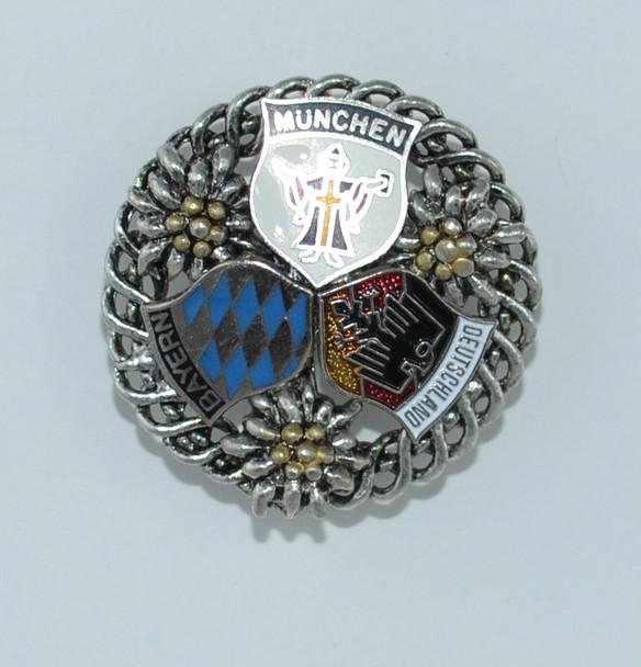 HP8429 Triple Crest Fancy Hat Pin
