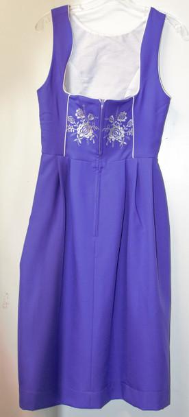 Jumper Purple w/white embroidery