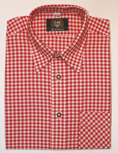 Red Checkered Shirt cotton (106R)