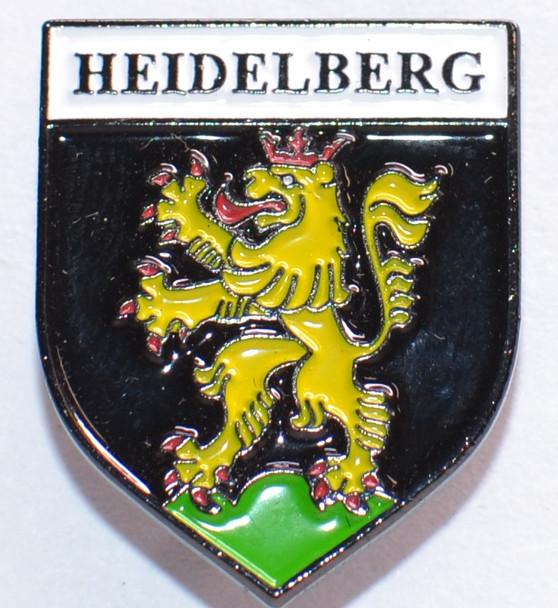 HP8536 HEIDELBERG Crest Hat Pin