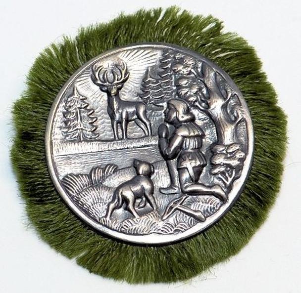HP8455 Saint Hubertus Fringe Hat Pin