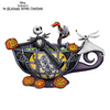 Bradford Jack Skellington Glow-In-The-Dark Teacup Delightfully Dark Figurine
