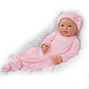 "Bradford Exchange Ping Lau ""Mommy's Girl"" Baby Doll With Magnetic Pacifier"