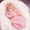 """Marissa May """"Rosie"""" Baby Doll With Custom Swaddle Blanket"""