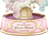 "Bradford Exchange ""My Granddaughter, You Are Magical"" Musical Unicorn Carousel"