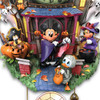 Disney Halloween Themed Cuckoo Clock with 9 Disney Characters: Lights and Music by The Bradford Exchange