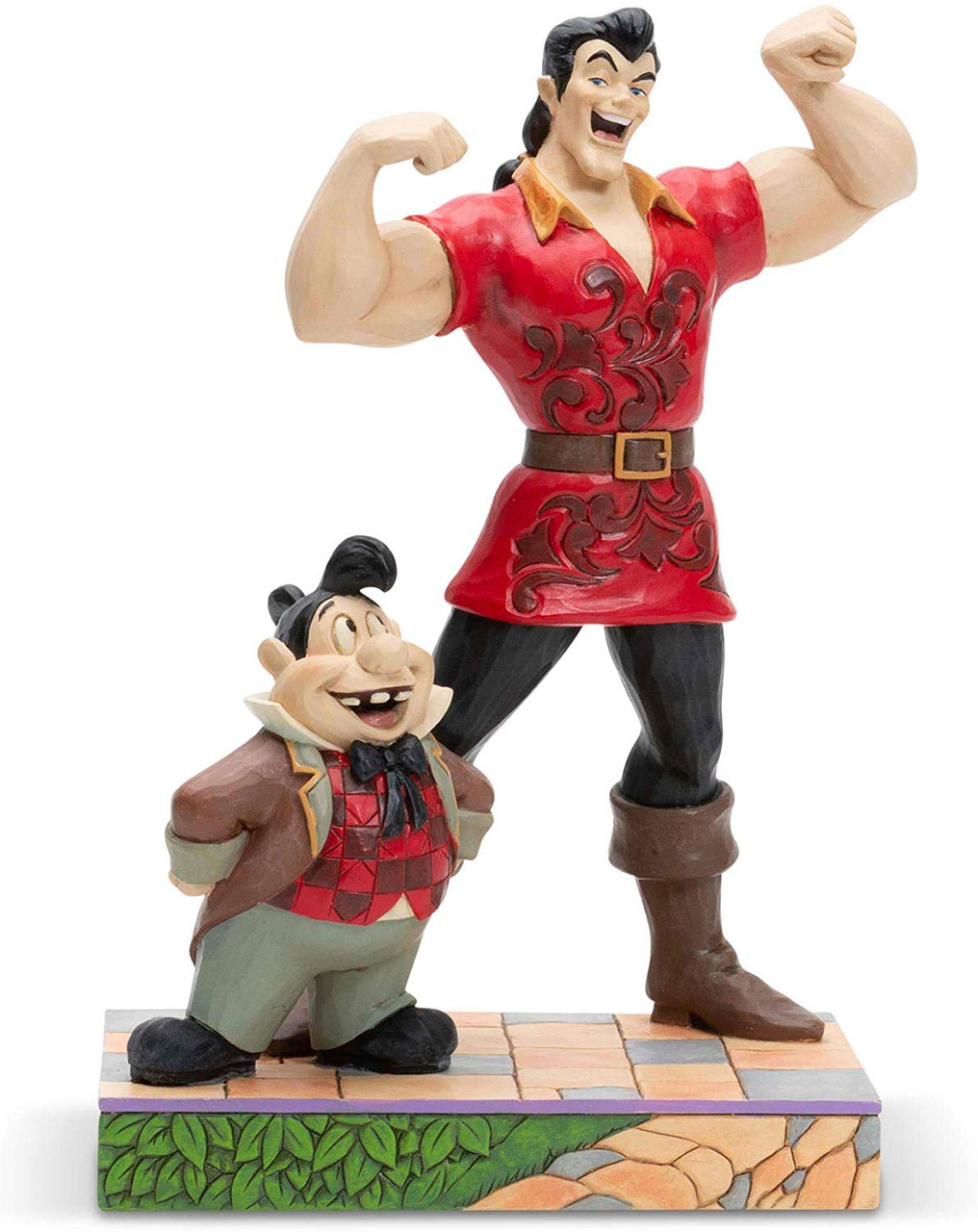 Enesco Disney Traditions By Jim Shore Gaston And Lefou Figurine Colby Collectibles