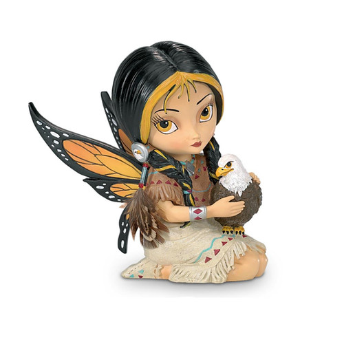 The Hamilton Collection Jasmine Becket-Griffith Native American-Inspired Fairy Figurine