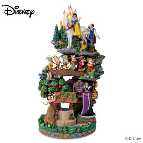 The Bradford Exchange Disney Snow White &The Seven Dwarfs Masterpiece Sculpture