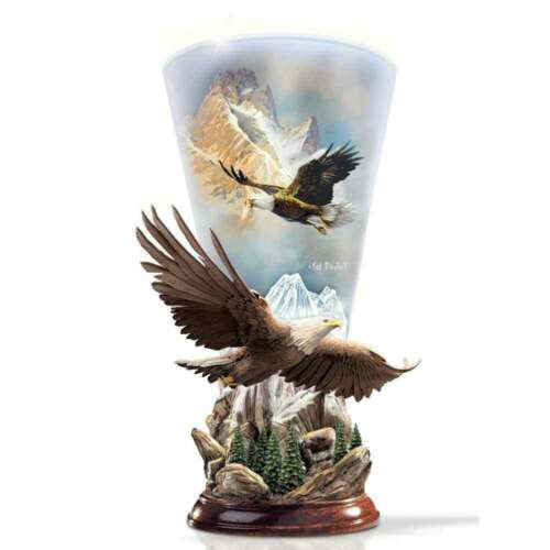 """Ted Blaylock """"Mountain Majesty"""" Sculpted Torchiere Lamp"""