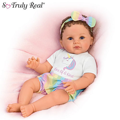 Ping Lau One Of A Kind Katherine Lifelike Poseable Baby Doll