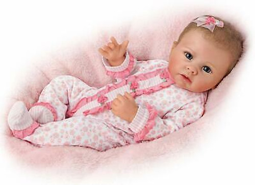 Ashton Drake Katie Baby Doll Breathes Coos Has Heartbeat NEW Gift So Truly Real