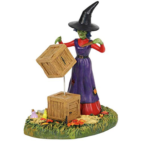 Department 56 Snow Village Accessories Halloween Moving with Magic Figurine