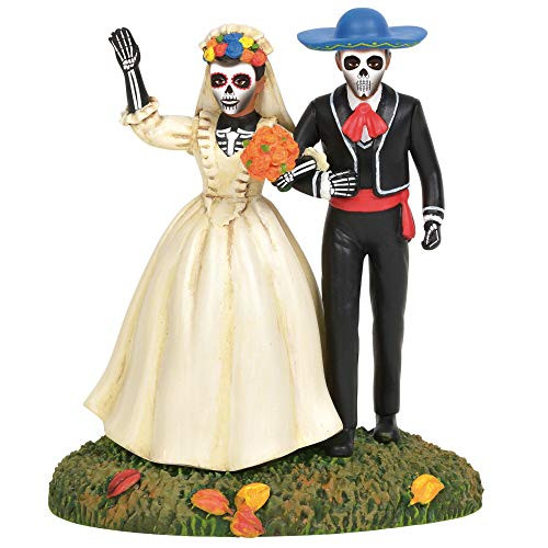 D56 Snow Village Halloween Accessories Day of The Dead Eternal Love Figurine
