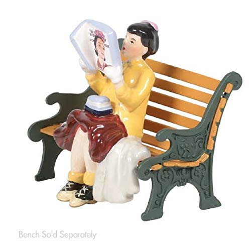 D56 Original Snow Village Accessories Rockwell's Cover Girl Village Fig 6005461