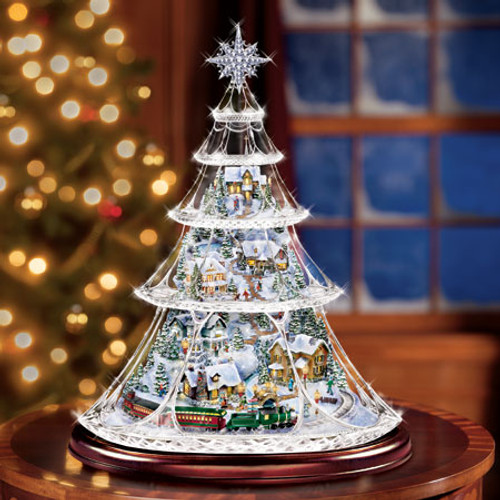 Bradford Exchange Thomas Kinkade Holiday Reflections Tree