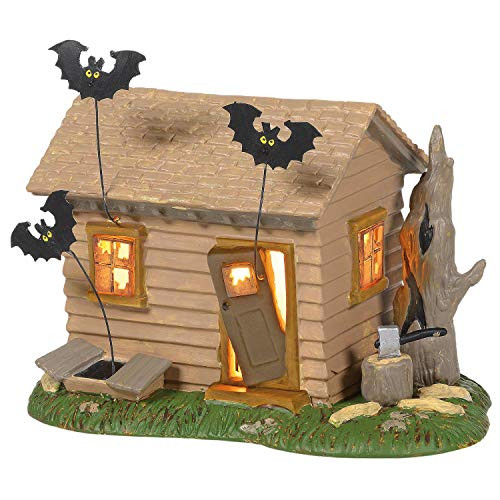 Department 56 Peanuts Village Halloween Haunted House Lit Building 6005589