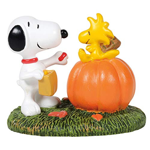 D56 Peanuts Village Accessories Halloween Treat for Woodstock Figurine 6005593