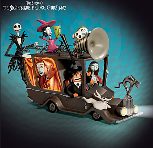 Bradford Exchange The Nightmare Before Christmas Mayor's Car Sculpture