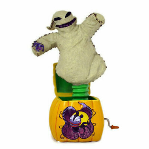 "Tim Burton The Nightmare Before Christmas ""Jack"" In The Box Oogie Boogie NEW"