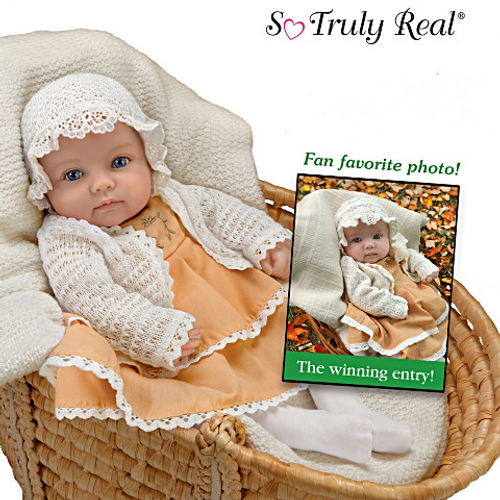Truly Real doll inspired by 7th annual Such A Doll Baby Photo Contest Rosalie