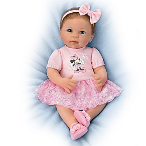 Bradford Exchange Ashton-Drake Linda Murray Sparkle Shimmer And Shine Baby Doll