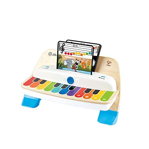 Baby Einstein Hape Magic Touch 11-Key Wooden Piano Musical Play Toy NEW