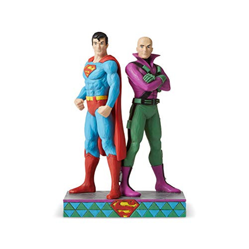 Enesco DC Comics by Jim Shore Superman and Lex Luthor 6005981 New in Box