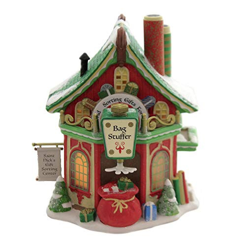 Department 56 North Pole Series St. Nick's Gift Sorting Center 6005431