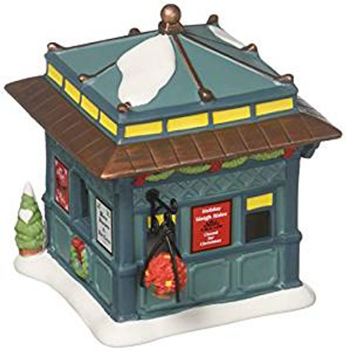 D56 Collections Classic Christmas Kiosk Figurine Village Accessory 6001705