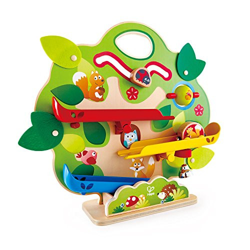 Hape Nutty Squirrel Railway Toy, Learning Toy Gift for Toddlers 18M+ & Up