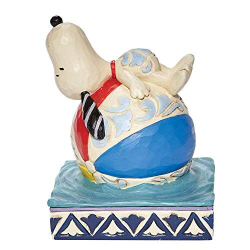 Enesco Peanuts by Jim Shore Snoopy on a Beach Ball 6007935 New in Box