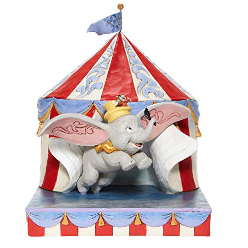 Jim Shore Disney Traditions 6008064 Dumbo Flying Out of Tent Figurine New in Box