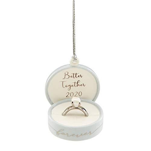 Lenox 2020 Together Forever Ring Box Ornament 890946 New in Box