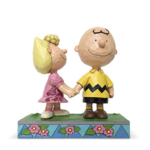 Enesco Peanuts by Jim Shore Charlie Brown and Sally, 1-inch High 6005949