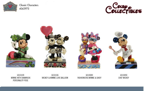 4062975 All 4 Classic Charcters $215.00