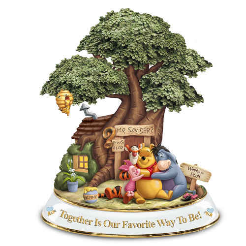 """Bradford Exchange Winnie the Pooh """"Together is Our Favorite Way To Be!"""" NEW"""