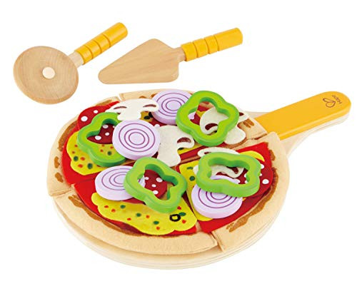 Hape Homemade Wooden Pizza Play Kitchen Food and Accessories Ages 3+ New in Box