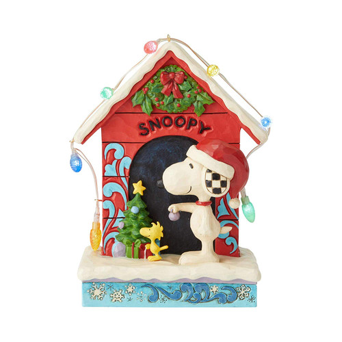 Enesco Peanuts by Jim Shore Snoopy by Dog House