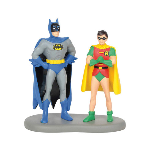 Enesco Department 56 Hot Properties Village Batman and Robin