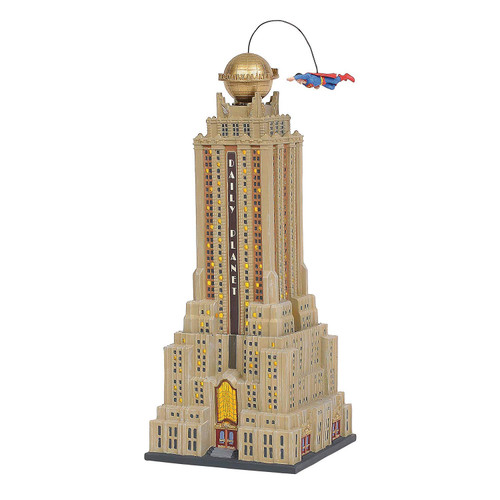 Enesco Department 56 Hot Properties Village The Daily Planet Lit Building