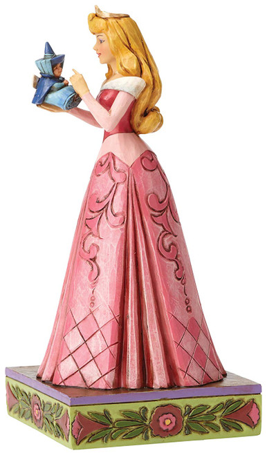 Jim Shore Disney Wonder and Wisdom Princess Aurora with Fairy Figurine 4054275