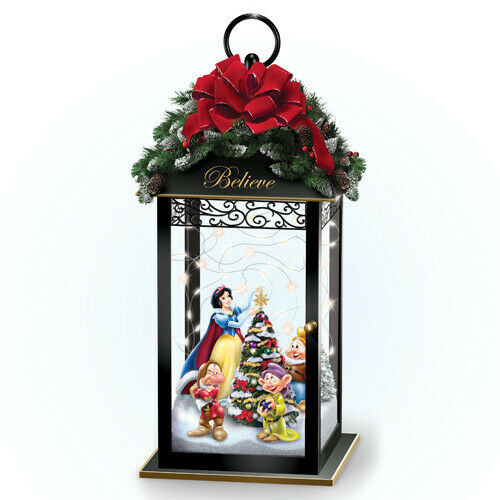 Bradford Exchange Disney Magic Of The Season Illuminated Lanterns Snow White