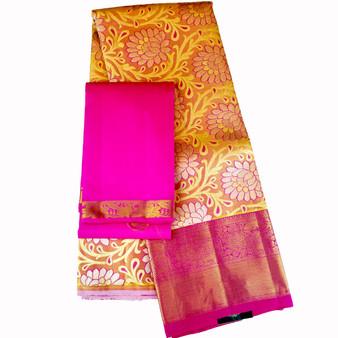 Half - Saree Kanchipuram